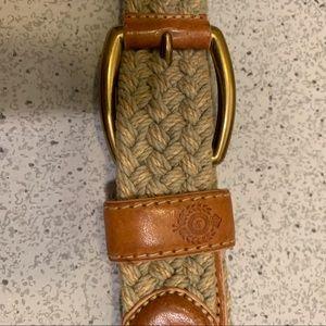 Liz Claiborne woven belt